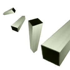 "Aluminium Square Box Section Tube 3/4"", 1"", 1-1/2"" & 2"" Options Square Tube"