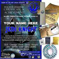 STAR WARS JEDI KNIGHTSPECIAL PERSONALISED CHRISTMAS GIFT BOY OR GIRL