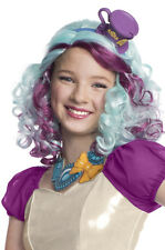 Brand New Ever After High Official License Madeline Mad Hatter Child Costume Wig