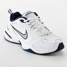 Nike 416355-102 Men's Air Monarch IV Cross Trainer White Navy Wide 4E All Size