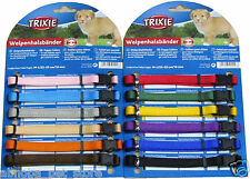 I.D.Me Velcro & Matching Trixie S/M or M/L Puppy Whelping Collars 6 & 12 Packs