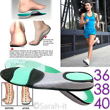 Insole Orthotic Heel Cup Arch Support Pain Relief Treatment Of Planter Fasciitis