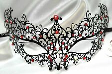 Metal Sexy Masquerade Mask Halloween Costume Dress up midnight Prom Party