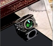 Fashion NEW HOT Green Lantern Ring Austrian Crystal Ring Justice League