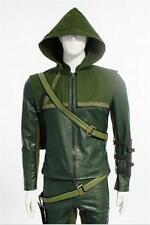 Green Arrow Oliver Queen Cosplay Costume Halloween Clothing  Accessories
