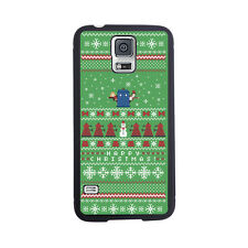 Christmas Doctor Who Tardis Sweater Rubber Case For Samsung Galaxy S3, S4 or S5