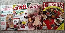 Choice of Vintage Christmas Ideas Craft Project Magazines