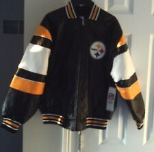 Pittsburgh Steelers Youth Faux Leather Jacket
