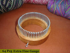 Extra Fine Gauge - Sock Knitting Loom - Adult sizes -  Cottage Looms
