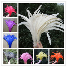 Wholesale! Beautiful rooster tail feathers 12-14inches / 30-35 cm10/50/100 pcs