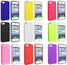 Slim Fitted Soft Rubber Silicone Skin Cover Case for Apple IPhone 6 Only.