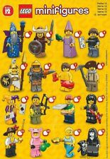 LEGO 71007 SERIES 12 MINIFIGURES CHOOSE A FIGURE FROM THE LIST......