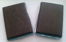 SUPER KING SIZE Cigarette Smokers Case - 4 Designs Available BRAND NEW