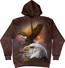 Sweat Adulte The Mountain Aigle et Nuages