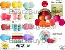 21 Pack EOS Lip Balm Set All 16 Flavors Organic Smooth Spheres + 3 Lip stick