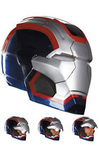 LICENSED IRON MAN 3 PATRIOT ADULT HELMET MASK FANCY DRESS HALLOWEEN COSTUME