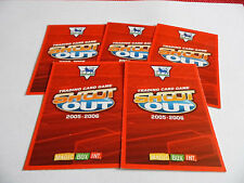 SHOOT OUT 2005/06 FOOTBALL CARDS (VARIOUS TEAMS) YOU CHOOSE