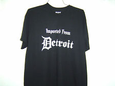 "Detroit Funny Shirt "" Imported From Detroit""  VERY HOT Classic Design"