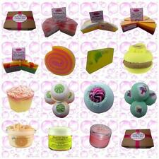 LUXURY SOAP AND BATH BOMB GIFT SET TOTALLY TROPICAL CREATE YOUR OWN HANDMADE