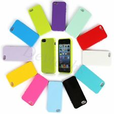 for iPhone 5 5S 6 / 6 Plus TPU Rubber Soft Silicone Gel Skin Bumper Case Cover