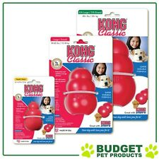 Kong Classic Red Rubber Dog Toy - All Sizes