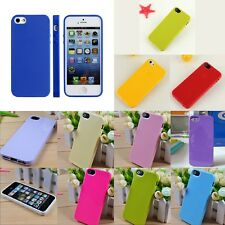 Hot Sale Protective Silicone Rubber TPU Skin Case Cover For iPhone 5 5G 5th 5S