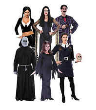 Addams Family Costumes Morticia Gomez Fester Wednesday Halloween Fancy Dress
