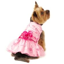 Dog Dress Pink Party XS S M L - Formal Wedding Pet Clothes Puppy Skirt Chihuahua