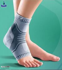 2 X Silicon Padded X-shape Arthritis Pain Relief Accutex Ankle Support-TWIN PACK