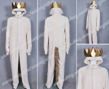 Where the Wild Things Are Cosplay Costume Wolf Max Records Jumpsuit High Quality