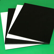 "3MM 1/8"" SINTRA PVC FOAM BOARD PLASTIC SHEETS YOU PICK SIZE AND COLOR"