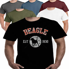 Beagle Hound Dog Cat Breed T shirt S-3XL Clothes Pet Animal Toy Collar Coat Bed