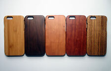 Luxury Natural Carved Wood Wooden Hard Case Cover Protector for iPhone 6 Samsung