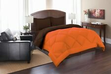 GOOSE DOWN ALTERNATIVE DOUBLE FILLED LUXURY COMFORTER 12 COLORS AND ALL SIZES