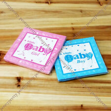 pack of 20 printed paper napkins 2 ply baby shower boys girls party cake