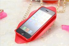 iphone 5 and 5s lips cases gifted item silicon covers