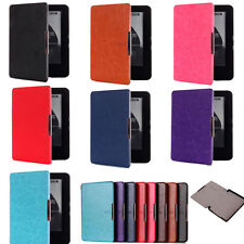 CY Slim Pull Up Leather Case Magnet  For Amazon 2014 New Kindle Sleep/Wake up