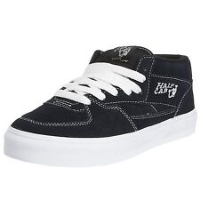 Vans Half Cab VN-0DZ3NVY Navy Blue White Suede Skate Shoes Sneakers $65 US Sizes