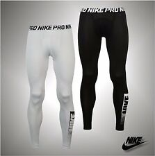 Mens Branded Nike Pro Core Base Layer Dri-Fit Tights Size S M  L XL XXL