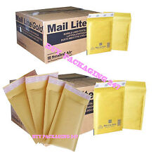 MAIL LITE PADDED BAGS JIFFY / ENVELOPES 'ALL SIZES' ALL COURIER - GOLD CHEAP
