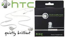 HTC RC E240 Stereo Earphone Headset Headphone Remote For HTC Mobile Phones