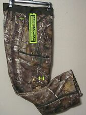 NWT$150 UNDER ARMOUR MENS RUT SCENT CONTROL CAMO PANTS 1236908 946 REAL TREE 40