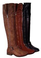 Women's New Hot Fashion Round Toe Over Knee High Riding Boots