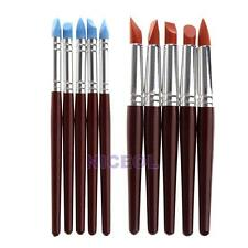 5 Pcs Pottery Clay Sculpture Carving Tools Ceramic Art Craft Supplies