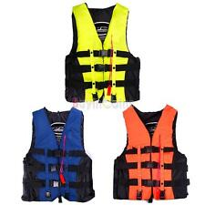 Fashion Adult Swimming Polyester Foam Life Jacket Vest Whistle Foam Prevention