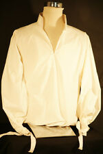 Regency-Steampunk-Cosplay-DELUXE WIDE SLEEVE COTTON SHIRT CREAM SIZE sml - xxxxl