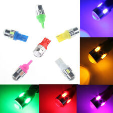 2X Colorfull T10 12V 3W 6 SMD 5630 High power LED 194 W5W Projector LENS Light
