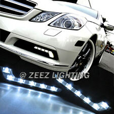 M.Benz Style L Shaped LED Daytime Running Light DRL Daylight Kit Fog Lamp Lights