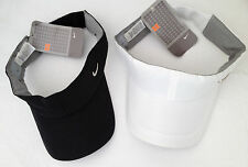 Nike Metal Tick Elasticated Golf Tennis Visor Adult Unisex  189649 MISC