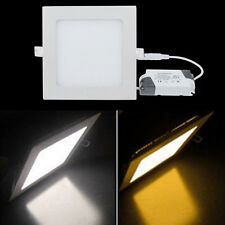6W/9W/12W/15W/18W/21W LED Square Recessed Panel Light Ceiling Lamp AC85V-265V